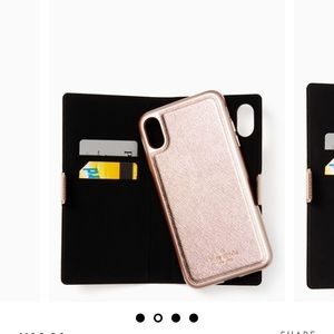 Kate Spade iPhone XS Max folio case